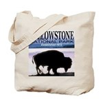 Bison Yellowstone National Pa Tote Bag