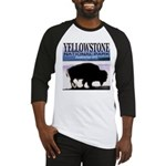Bison Yellowstone National Pa Baseball Jersey