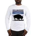 Bison Yellowstone National Pa Long Sleeve T-Shirt