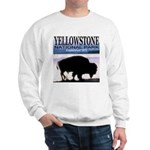 Bison Yellowstone National Pa Sweatshirt