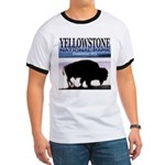 Bison Yellowstone National Pa Ringer T