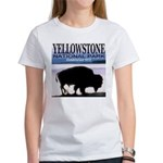 Bison Yellowstone National Pa Women's T-Shirt