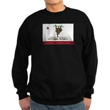 California Skateboarding Bear Flag Sweatshirt