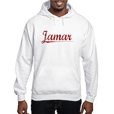 Jamar, Vintage Red Hoodie