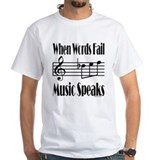 Music Speaks Shirt