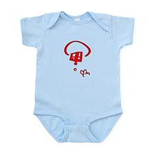 Peace Red Infant Bodysuit
