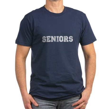 Seniors High School Men's Fitted T-Shirt (dark)