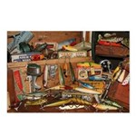 Fishing Tackle Postcards (Package of 8)