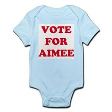 VOTE FOR AIMEE  Infant Creeper