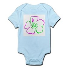 Hibiscus Flower Infant Bodysuit