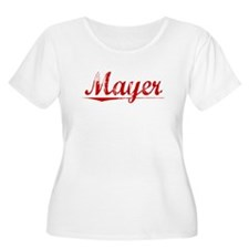 Mayer, Vintage Red T-Shirt