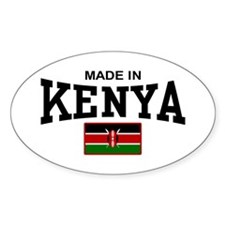 Made In Kenya Decal