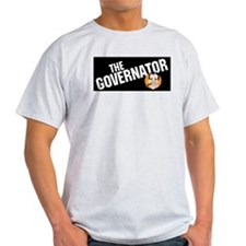 Governator Ash Grey T-Shirt