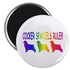 "Cocker Spaniel 2.25"" Magnet (10 pack)"