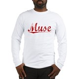 Muse, Vintage Red Long Sleeve T-Shirt