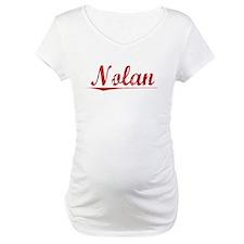 Nolan, Vintage Red Shirt