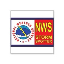 NWS STORM SPOTTER Window/Bumper Sticker
