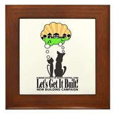 Humane society societies animal shelter Framed Tile