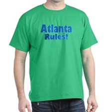 Atlanta Rules! Black T-Shirt