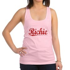 Richie, Vintage Red Racerback Tank Top
