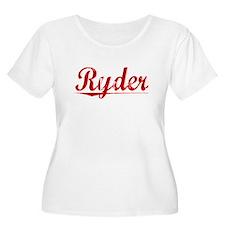 Ryder, Vintage Red T-Shirt