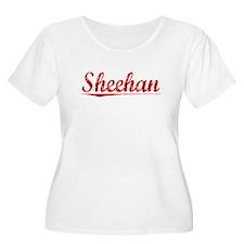 Sheehan, Vintage Red T-Shirt