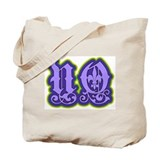 New Orleans Gothic Type Tote Bag