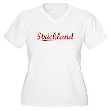 Strickland, Vintage Red T-Shirt
