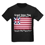 Grand Union Flag Kids Dark T-Shirt