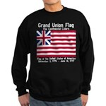 Grand Union Flag Sweatshirt (dark)