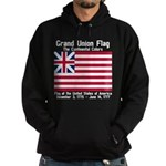 Grand Union Flag Hoodie (dark)