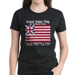 Grand Union Flag Women's Dark T-Shirt