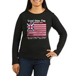 Grand Union Flag Women's Long Sleeve Dark T-Shirt