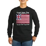Grand Union Flag Long Sleeve Dark T-Shirt