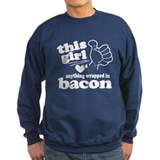 Girl Hearts Bacon Jumper Sweater