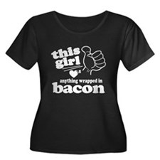 Girl Hearts Bacon T