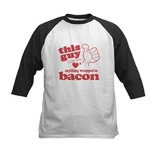 Guy Hearts Bacon Tee