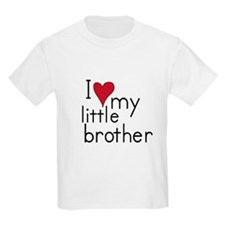 I love my little brother Kids T-Shirt T-Shirt