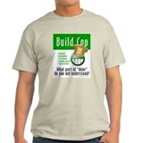 Build Cop (Ash Grey T-Shirt)