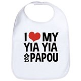 I Love My Yia Yia and Papou Bib