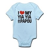 I Love My Yia Yia and Papou Onesie