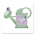 butteryfly and watering can design.png Square Car