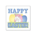 3-happy easter design.png Square Sticker 3