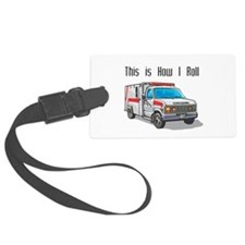 ambulence copy.png Luggage Tag