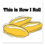 rolls.png Square Car Magnet 3