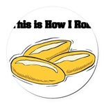 rolls.png Round Car Magnet