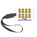 cystic fibrosis.png Large Luggage Tag