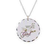 Wolf Girl Sparkly Necklace