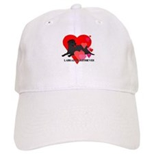 Black Labrador Retriever Baseball Cap