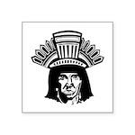 indian head copy.jpg Square Sticker 3
